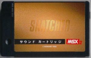 Snatcher MSX2 Sound Cartridge