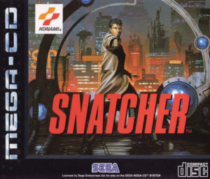 Snatcher Mega CD Box