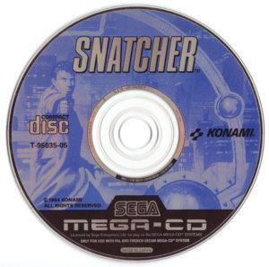 Snatcher Mega CD Disc