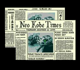 Snatcher Neo Kobe Times