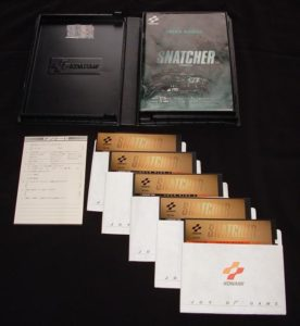 Snatcher PC-8801 Complete Box Displayed
