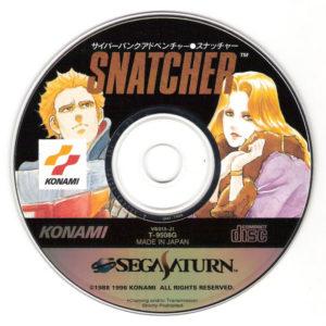 Snatcher Saturn Disc