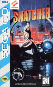 Snatcher Sega CD Box
