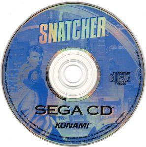 Snatcher Sega CD Disc