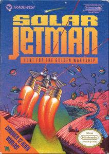 Solar Jetman Hunt for the Golden Warpship Box