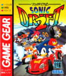 Sonic Drift 2 Japanese Game Gear Box