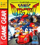 Sonic Drift 2 Japanese Game Gear Box