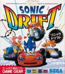 Sonic Drift Japanese Game Gear Box