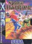 Space Harrier Mega Drive 32X Box