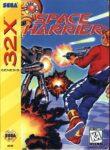 Space Harrier Sega 32X Box