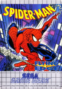 Spider-Man Game Gear Box