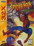 Spider-Man Web of Fire Sega 32X Box