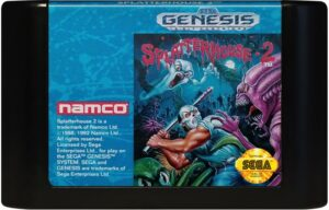 Splatterhouse 2 Cartridge
