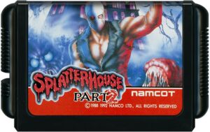 Splatterhouse 2 Japanese Cartridge