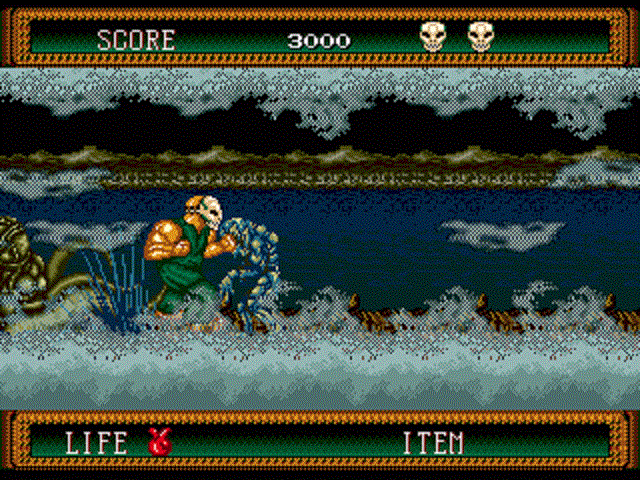 Splatterhouse 2 - Level 4