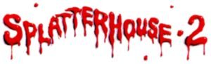 Splatterhouse 2 Logo