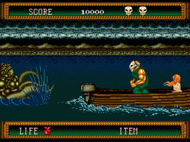 Splatterhouse 2 - Octopus