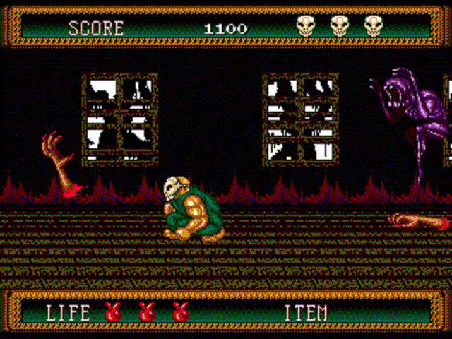 Splatterhouse 2 - Severed Hands