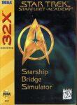 Star Trek - Starfleet Academy Sega 32X Box