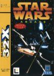 Star Wars Arcade Japanese 32X Box