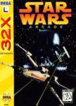 Star Wars Arcade Sega 32X Box