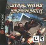 Star Wars - Episode I - Jedi Power Battles Dreamcast Box