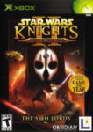 Star Wars - Knights of the Old Republic II - The Sith Lords Xbox Box