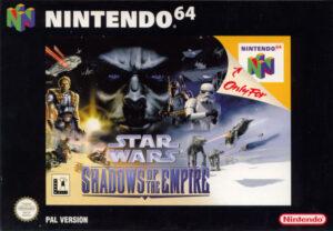 Star Wars - Shadows of the Empire European N64 Box