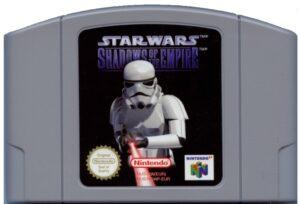 Star Wars - Shadows of the Empire European N64 Cartridge