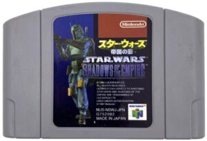 Star Wars - Shadows of the Empire Japanese N64 Cartridge