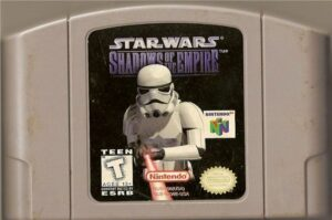 Star Wars - Shadows of the Empire N64 Cartridge