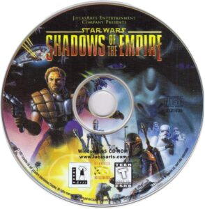 Star Wars - Shadows of the Empire PC Disc