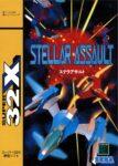 Stellar Assault Japanese 32X Box