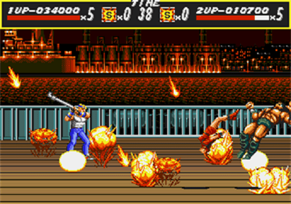 Streets of Rage - Fire