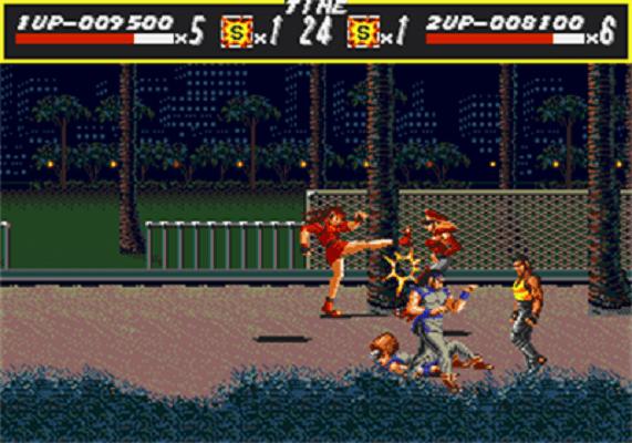Streets of Rage - Street Fight