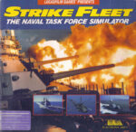 Strike Fleet C64 Box