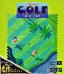 Super Golf Game Gear Japanese Box