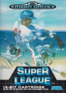 Super League Mega Drive Box