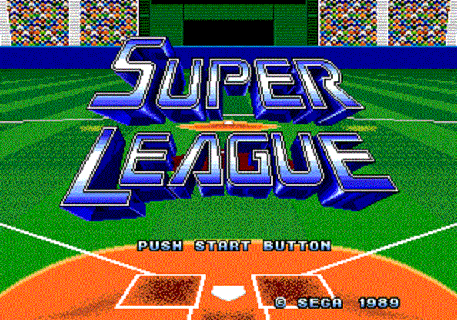 Super League - Title Screen