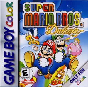 Super Mario Bros Deluxe Box