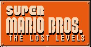 Super Mario Bros The Lost Levels Logo