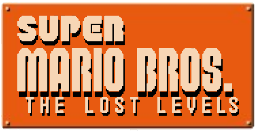 Super Mario Bros The Lost Levels Logo