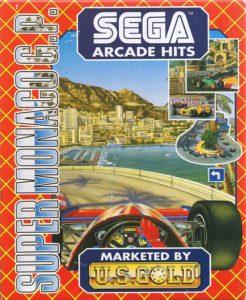Super Monaco GP Amiga Box