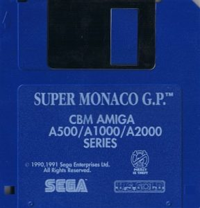 Super Monaco GP Amiga Disk