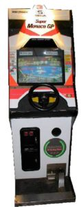 Super Monaco GP Arcade Cabinet Upright Front