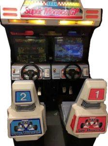 Super Monaco GP Arcade Multiplayer Cabinet