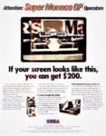 Super Monaco GP Conversion Kit Advertisement
