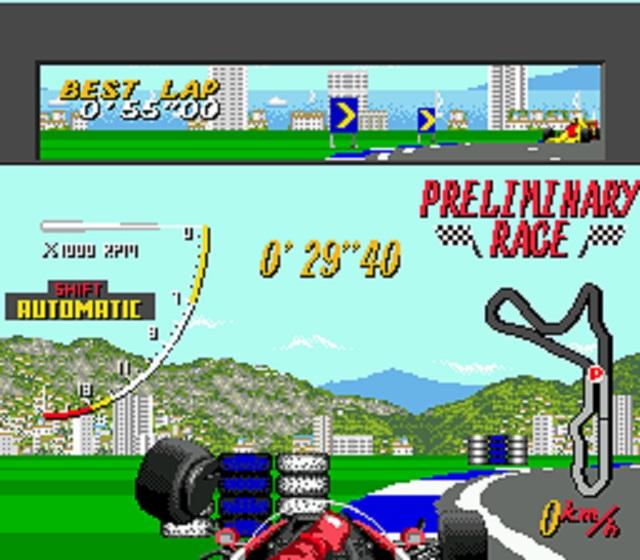 Super Monaco GP Crash