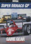 Super Monaco GP Game Gear Box