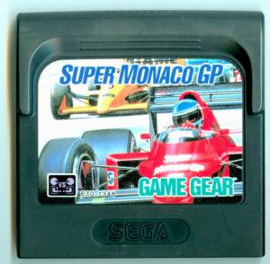 Super Monaco GP Game Gear Europe Cartridge